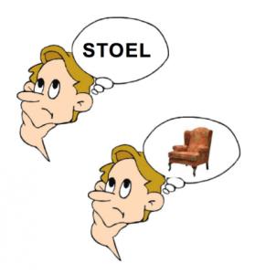 Beelddenken stoel