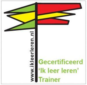 Logo Ik leer leren gecertificeerd trainer